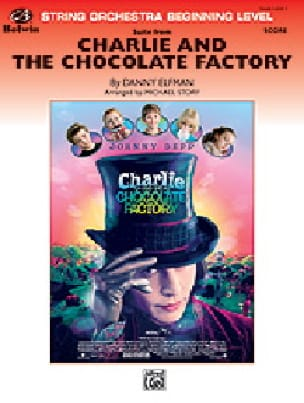 Danny Elfman - Charlie and the chocolate factory - Sheet Music - di-arezzo.com