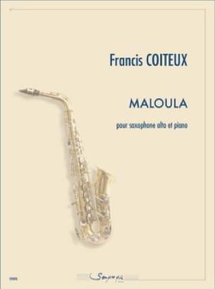 Francis Coiteux - Maloula - Partition - di-arezzo.fr