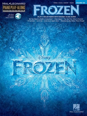 Disney Walt / Anderson-Lopez Kristen / Lopez Robert - Piano Play-Along Volume 128 La Reine des Neiges - Partition - di-arezzo.fr