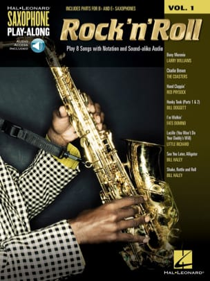 - Saxophone Play-Along Volume 1 - Rock 'N' Roll - Sheet Music - di-arezzo.co.uk