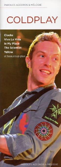 Paroles accords & mélodie - Coldplay - Partition - laflutedepan.com