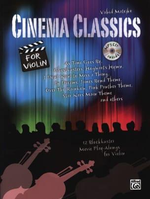 Cinema classics pour violon mp3 - Partition - laflutedepan.com