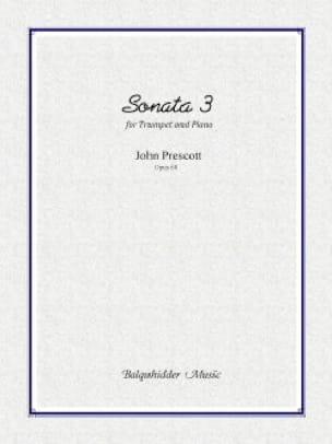 Sonata 3 opus 68 - John Prescott - Partition - laflutedepan.com