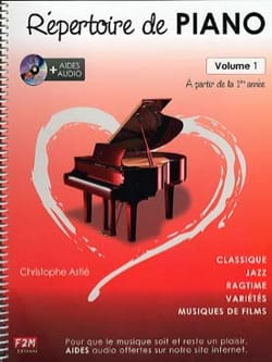 Christophe Astié - Piano Directory Volume 1 - Sheet Music - di-arezzo.co.uk