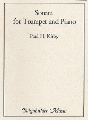 Sonata for trumpet and piano - Paul Kirby - laflutedepan.com