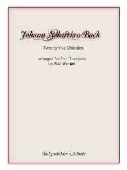 Twenty-five chorales - Arranged for four trumpets BACH laflutedepan