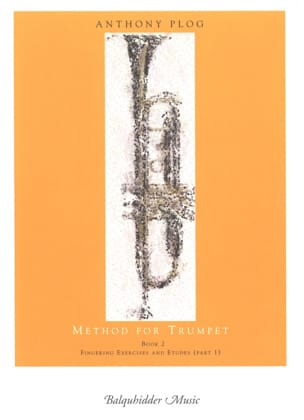 Method for trumpet book 2 Anthony Plog Partition laflutedepan