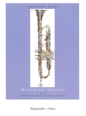 Anthony Plog - Method for trumpet book 6 - Sheet Music - di-arezzo.com