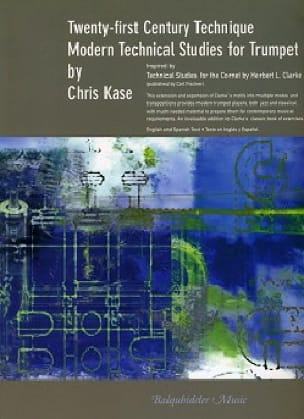 Chris Kase - Modern technical studies for trumpet - Partition - di-arezzo.fr