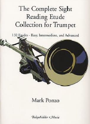 Mark Ponzo - Complete collection of sight - reading etudes for trumpet - Sheet Music - di-arezzo.com