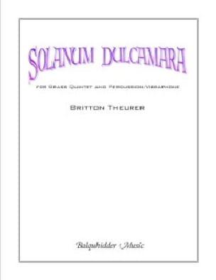 Britton Theurer - Solanum Dulcamara - Sheet Music - di-arezzo.com