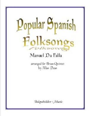 DE FALLA - Popular Spanish Folksongs - Sheet Music - di-arezzo.com