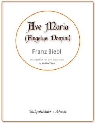 Franz Biebl - Ave Maria - Partition - di-arezzo.fr