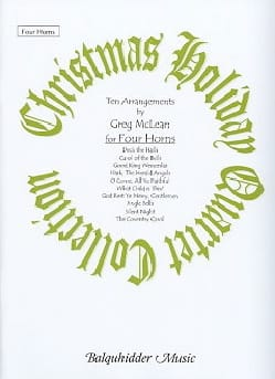 - Christmas Holiday Quartet Collection for Four Horns - Sheet Music - di-arezzo.co.uk