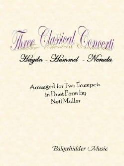- Three Classical Trumpet Concerti - Partition - di-arezzo.fr