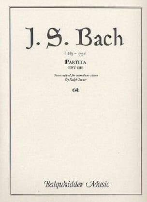 Partita - BACH - Partition - Trombone - laflutedepan.com