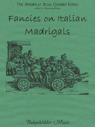 - Fancies on Italian Madrigals - Sheet Music - di-arezzo.com