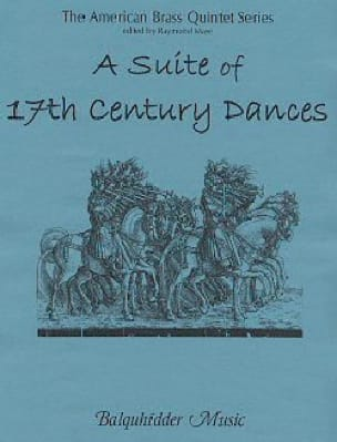 - A Suite of 17th Century Dances - Sheet Music - di-arezzo.com
