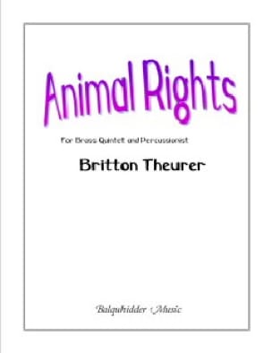 Britton Theurer - Animal Rights - Sheet Music - di-arezzo.com