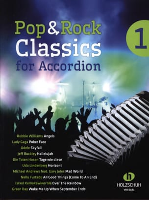 Pop & Rock Classics for Accordion volume 1 Partition laflutedepan