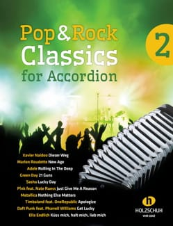 - Pop - Classics for Accordion Volume 2 - Sheet Music - di-arezzo.co.uk