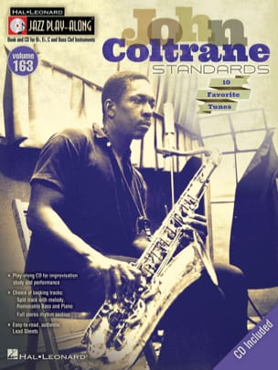 John Coltrane - Jazz Play-Along Volume 163 - John Coltrane Standards - Partition - di-arezzo.fr