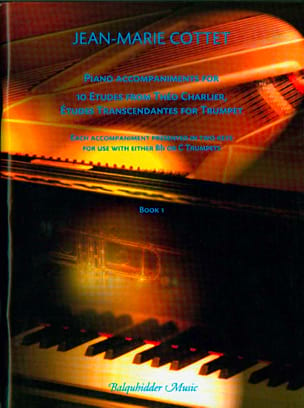 Jean Marie Cottet - Piano part accompanying the 10 transcendent studies of Théo Charlier - Sheet Music - di-arezzo.com