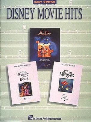 DISNEY - Disney Movie Hits Easy Guitar - Partitura - di-arezzo.es