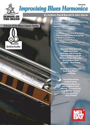 Improvising Blues Harmonica Barett David / Garcia John laflutedepan