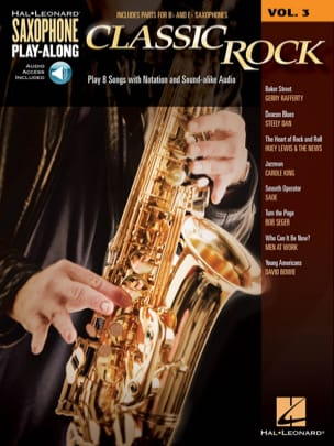 Saxophone Play-Along Volume 3 - Classic Rock - Sheet Music - di-arezzo.co.uk