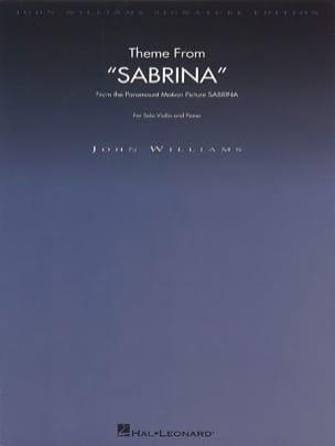 Theme from Sabrina John Williams Partition Violon - laflutedepan