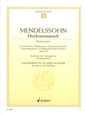 Marche Nuptiale Hochzeitsmarsch - Felix Mendhelson - laflutedepan.com