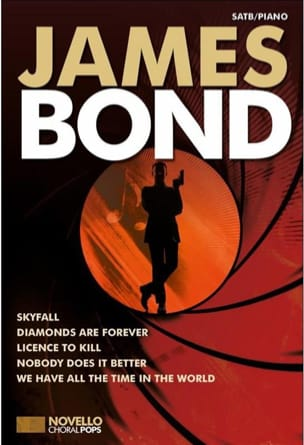 - Novello Choral Pops - James Bond - Sheet Music - di-arezzo.co.uk