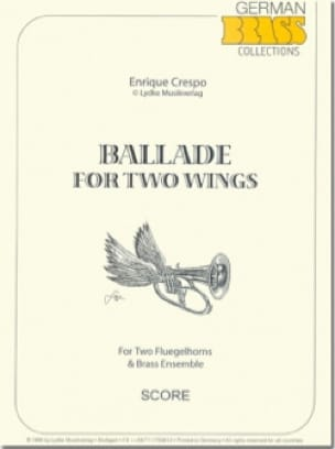 Ballade for two wings - Enrique Crespo - Partition - laflutedepan.com