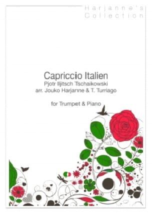 Capriccio Italien TCHAIKOVSKY Partition Trompette - laflutedepan