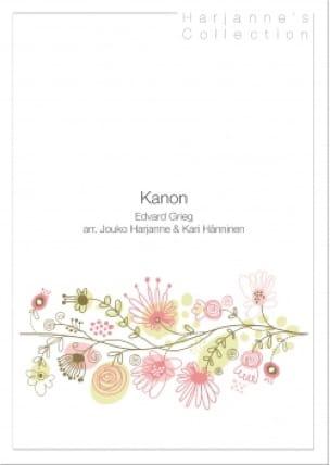Kanon - Edgard Grieg - Partition - Trompette - laflutedepan.com