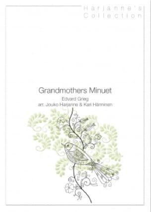 Grandmothers Minuet GRIEG Partition Trompette - laflutedepan