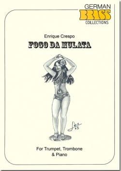 Fogo da Mulata Enrique Crespo Partition laflutedepan