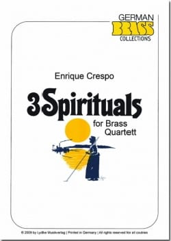 3 Spirituals - Traditionnel - Partition - laflutedepan.com