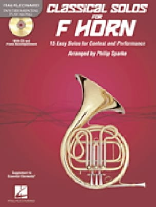 Classical Solos for Horn - Partition - Trombone - laflutedepan.com