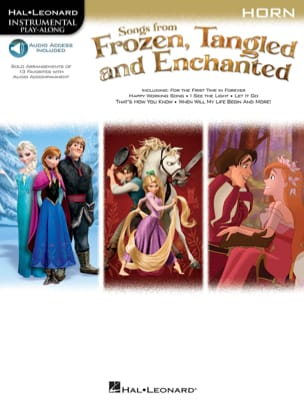 DISNEY - La Reine des Neiges Raiponce et Enchanted - Partition - di-arezzo.fr
