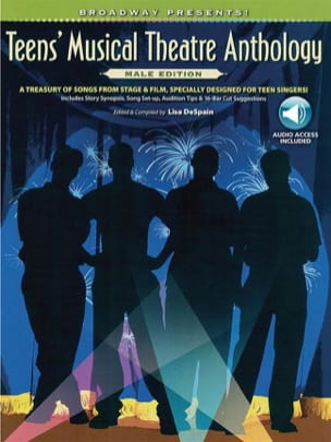 Teens' Musical Theatre Anthology: Male Edition - laflutedepan.com
