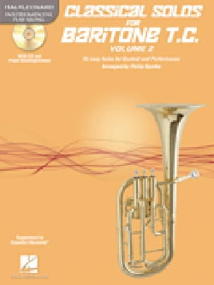 - Classical Solos for Baritone Volume 2 clé de sol - Partition - di-arezzo.fr