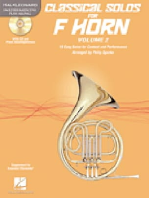 Classical Solos for Horn Volume 2 - Partition - laflutedepan.com