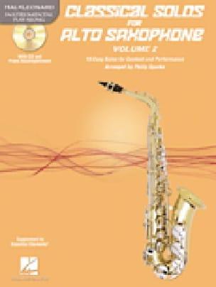 - Classical Solos for Alto Saxophone Volume 2 - Partition - di-arezzo.fr