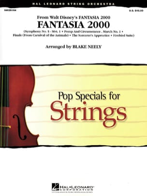 DISNEY - Fantasia 2000 - Pop Specials for Strings - Sheet Music - di-arezzo.com