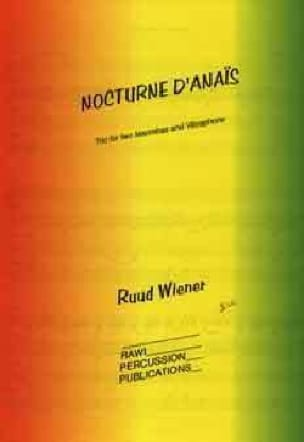 Nocturne d'Anais Ruud Wiener Partition laflutedepan