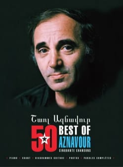 50 Best Of - Aznavour Charles Aznavour Partition laflutedepan