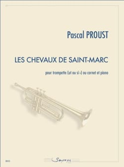 Pascal Proust - The horses of St. Mark - Sheet Music - di-arezzo.co.uk