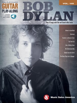 Bob Dylan - Guitar Play-Along Band 148 - Bob Dylan - Partition - di-arezzo.de
